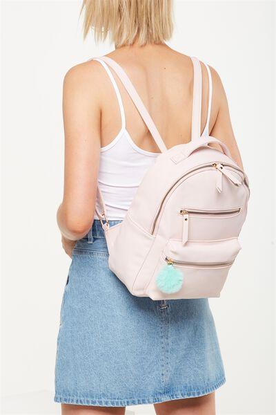 Mini Backpack, PINK & BLUE