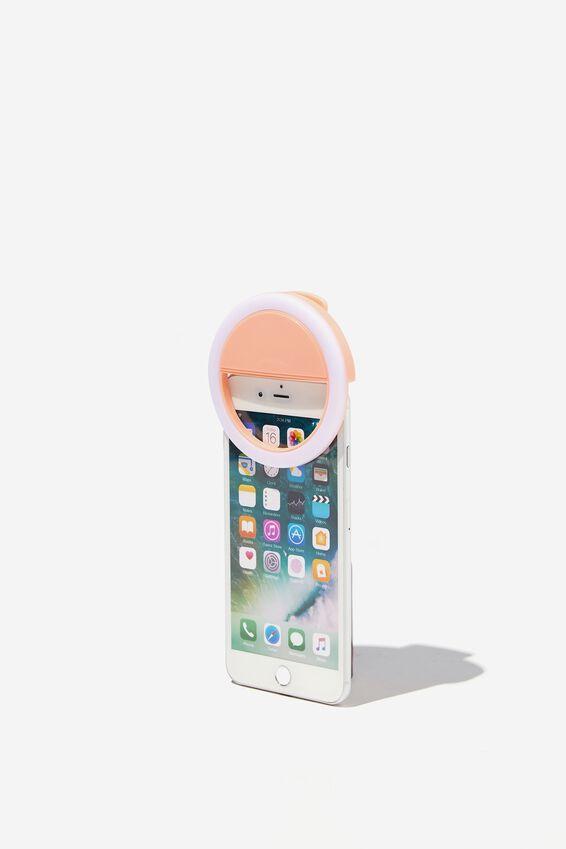 Selfie Phone Ring Light, PEACH CANDY