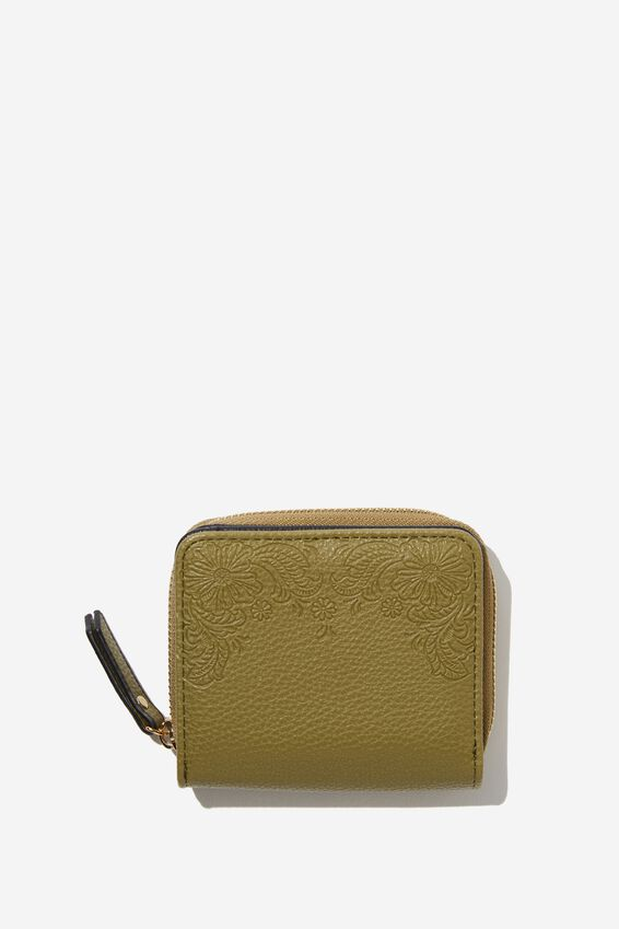 Mini Wallet, OLIVE GREEN