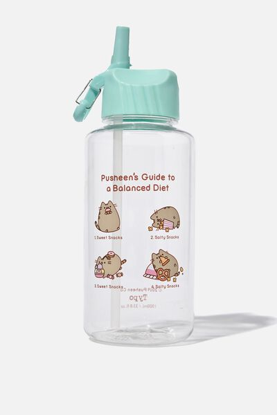 Suck It Up Drink Bottle, LCN PUSH PUSHEEN BALANCED DIET