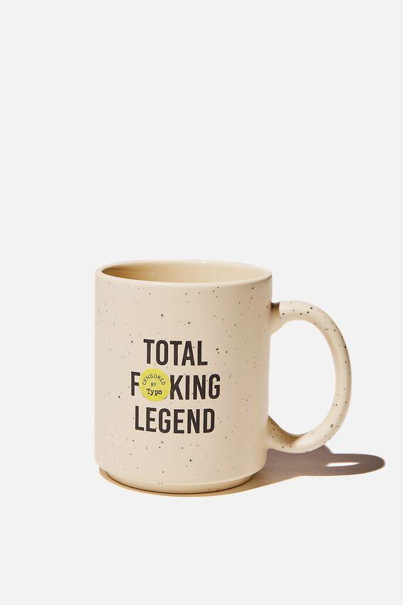 Daily Mug, TOTAL LEGEND ECRU!!