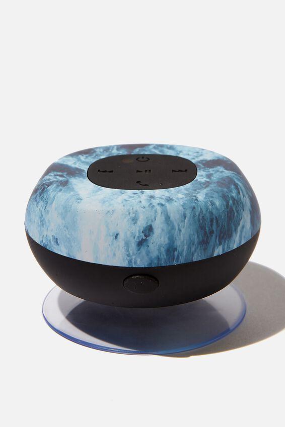 Wireless Shower Speaker, DARK OCEAN 2.0