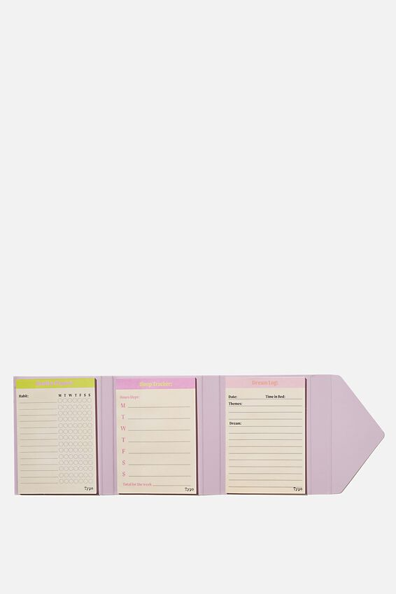Planner Pocket Sticky Note Set, SWEET DREAMS
