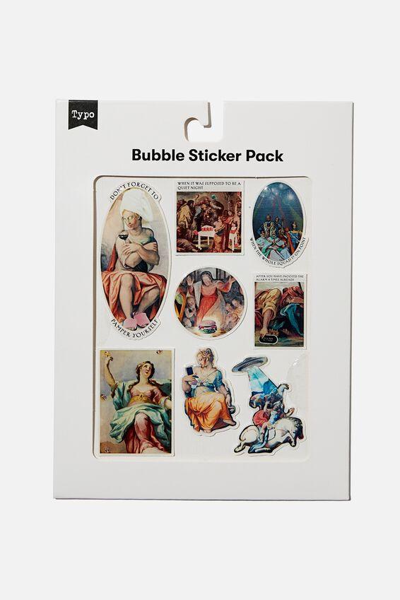 Bubble Sticker Pack, RENAISSANCE!!