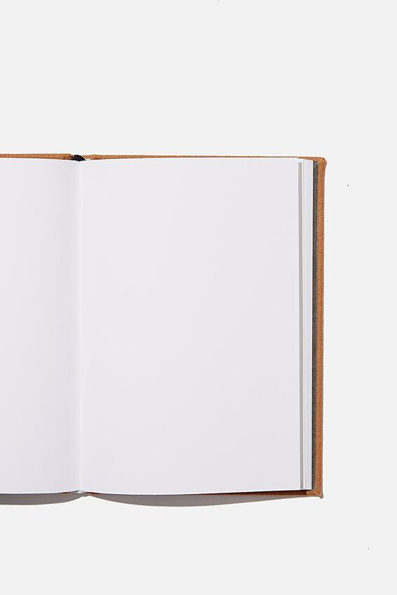 "A5 Sketch Notebook (8.27"" x 5.83""), MID TAN"