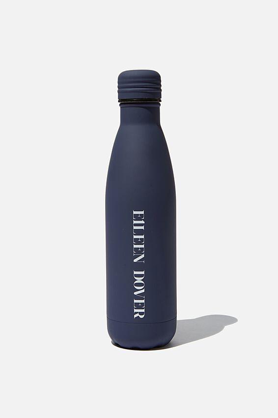 Personalised Metal Drink Bottle, DARK BLUE