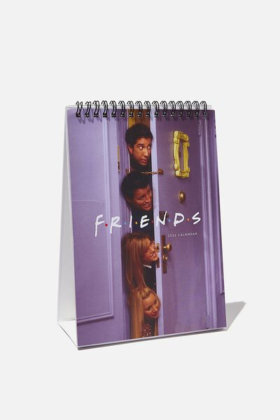 2022 Get A Date Desk Calendar, LCN WB FRIENDS