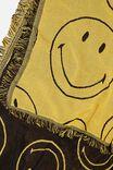 Smiley Woven Throw, LCN SMI SMILEY FACES