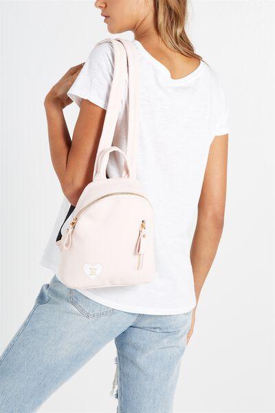 Santa Fe Backpack, PINK SASS