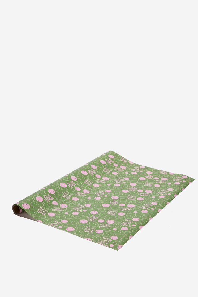 Christmas Wrapping Paper Roll, LCN SMI SMILEY