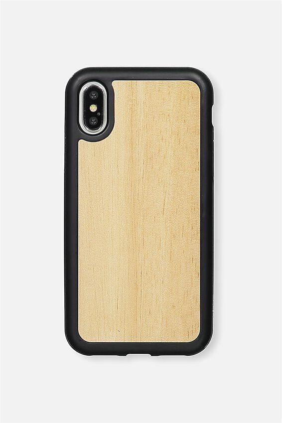 Superior Phone Case X, OAK WOODGRAIN