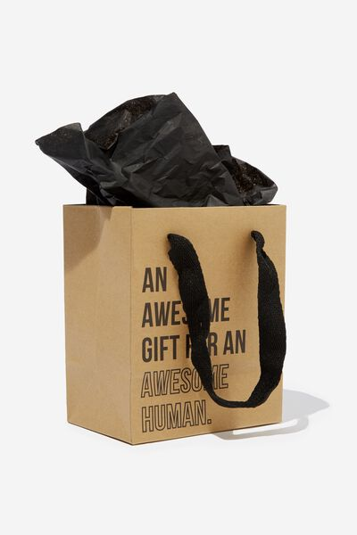 Stuff It Bag - Extra Small With Tissue, AWESOME HUMAN