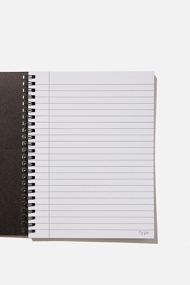 A5 Spinout Notebook Recycled, RG ASIA RAMEN NOODLES