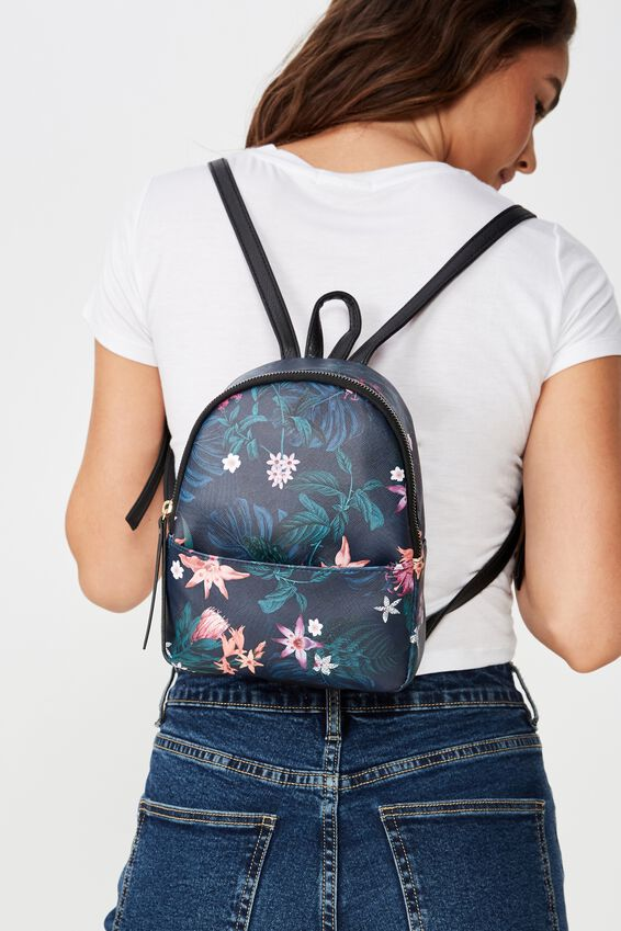 Mini Cairo Backpack, JUNGLE GREENERY