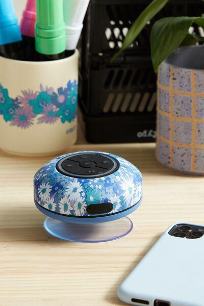 Wireless Led Shower Speaker, DITSY CORNFLOWER 2.0