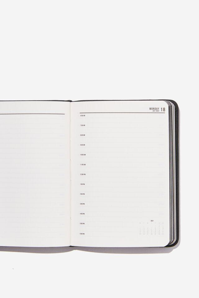 2022 A6 Daily Buffalo Diary, JET BLACK