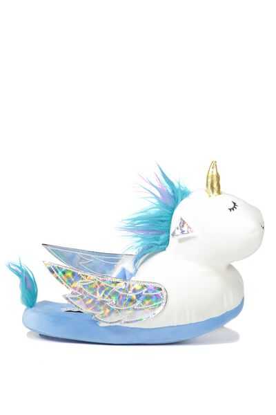 Novelty Slippers, UNICORN