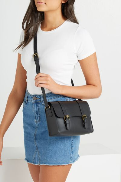 Mini Harry Bag, BLACK