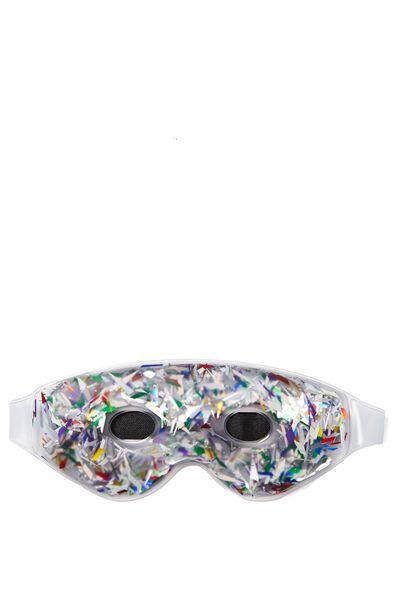 Gel Eye Mask, GLITTER CONFETTI