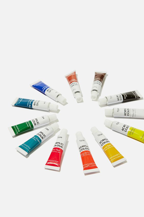 Acrylic Paint Set, MULTI