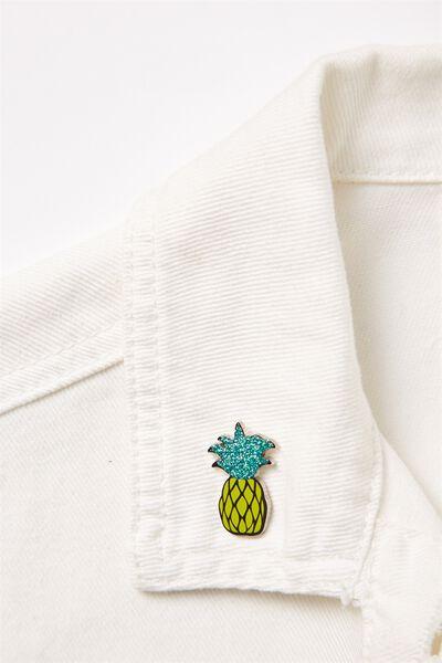 Enamel Badges, PINEAPPLE