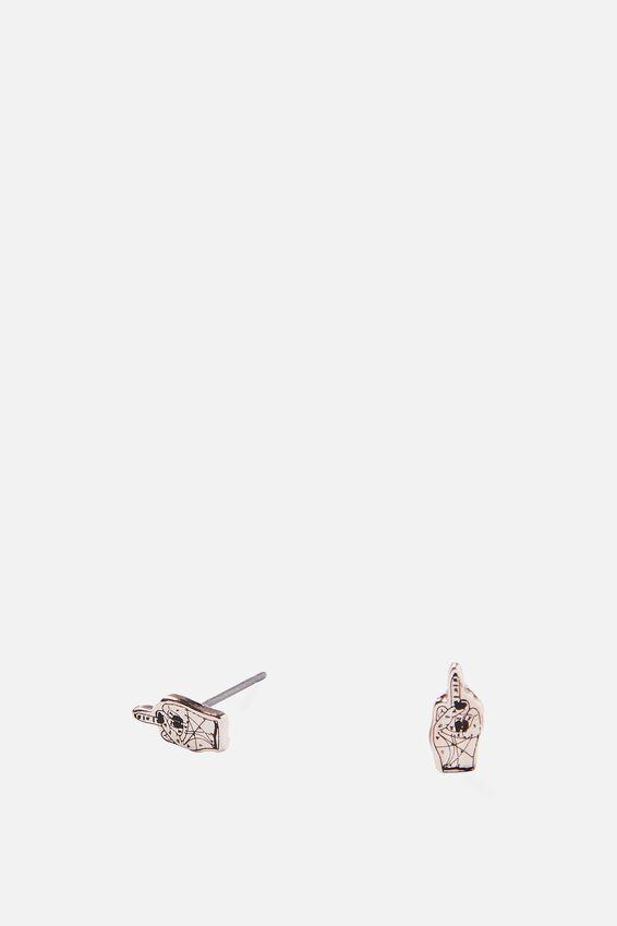 Novelty Earrings, PALMISTRY