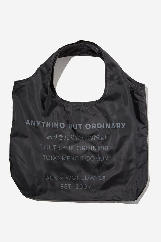 Foldable Shopper Tote, ANYTHING BUT ORDINARY