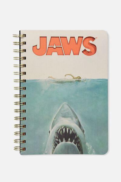 A5 Diecut Spiral Notebook, LCN JAWS