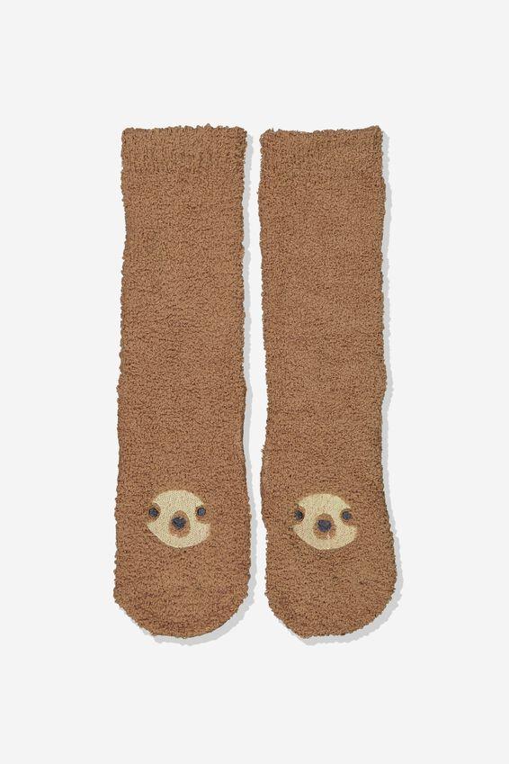 Long Slipper Socks, SLOTH LIFE