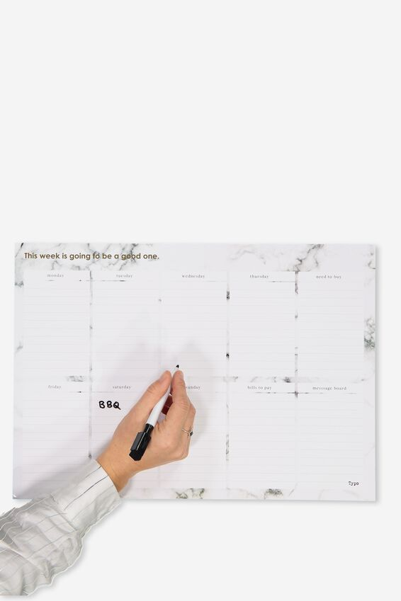 A3 Magnetic Planner, MARBLE