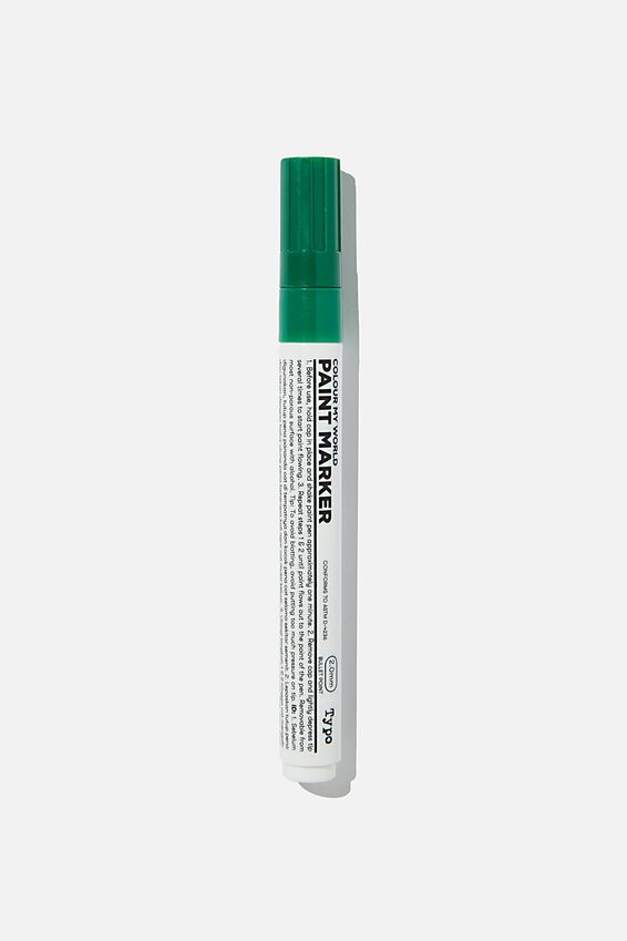 Colour My World Paint Marker, GREEN