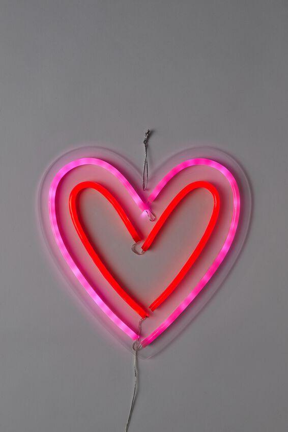 Led Wall Light, HEART