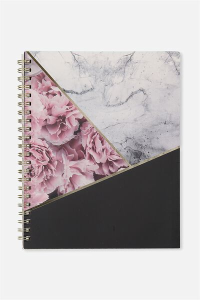A4 Campus Notebook - 240 Pages, MARBLE SPLICE