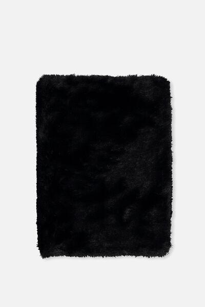 Plush A5 Journal, BLACK