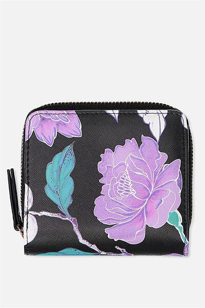Mini Wallet, LUSH FLORAL