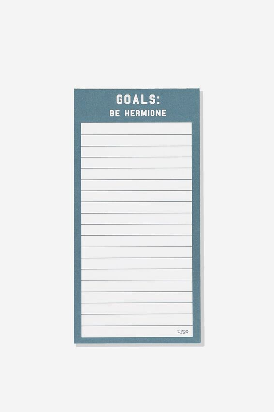 Make A List Note Pad, LCN HP HERMIONE