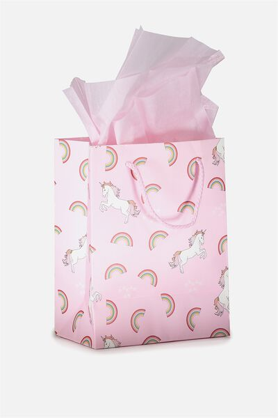 Small Gift Bag with Tissue Paper, DREAM ON