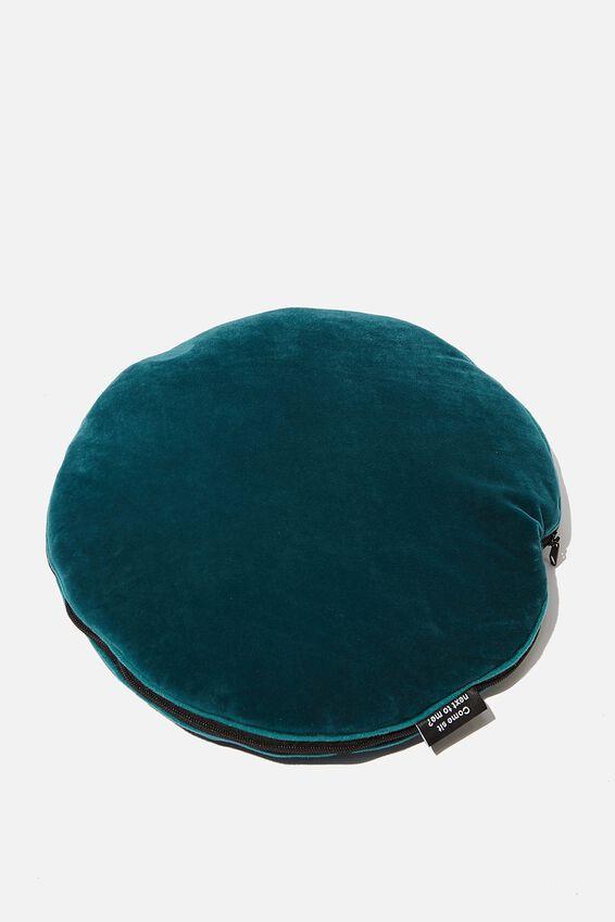 Convertible Cushy Cushion Throw, TIGER FOLIAGE