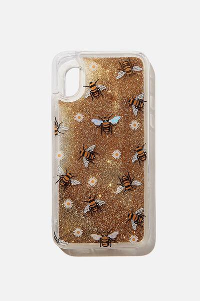 Shake It Phone Case Iphone X,Xs, BUMBLE BEE