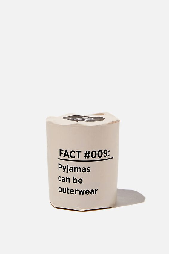 Talk To Me Candle Small, PYJAMAS OUTERWEAR
