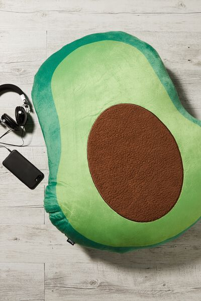 Large Get Cushy Cushion, AVOCADO