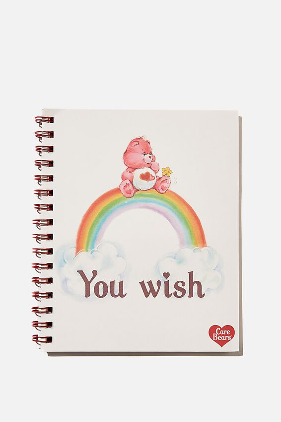 A5 Care Bears Campus Notebook Recycled, LCN CAREBEARS YOU WISH