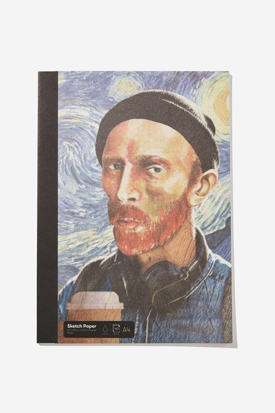 A4 Sketch Mate Book, MILLENIAL VAN