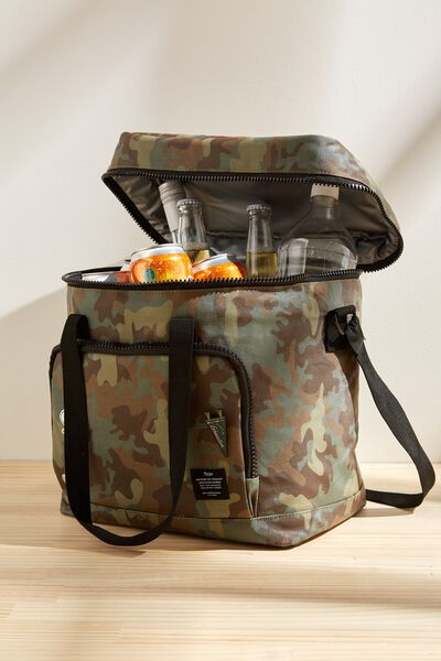 Day For It Cooler Bag, CAMO