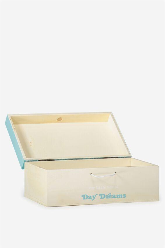 Keep All Storage Box, BLUE LACE