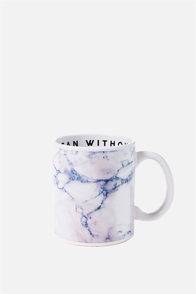 Anytime Mug, MEAN WITHOUT CAFFEINE