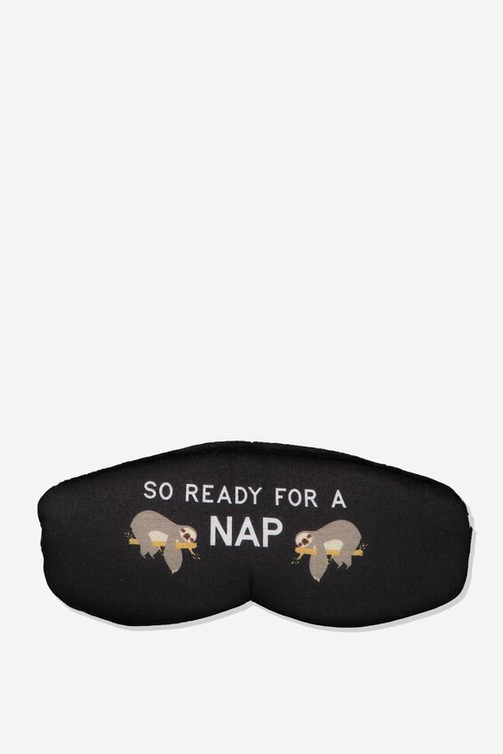 Total Block Out Eyemask, SLOTH NAP