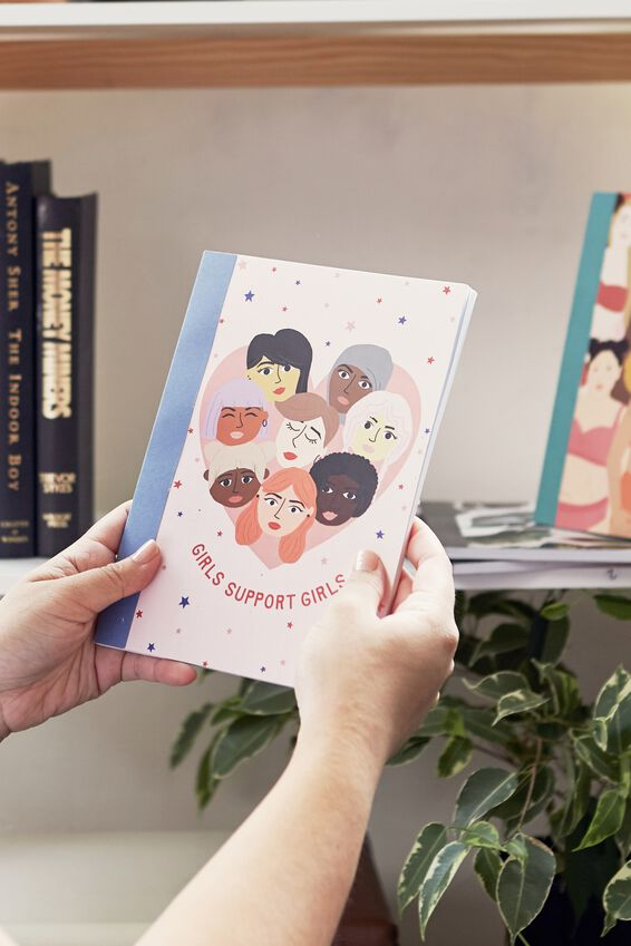 A5 Graduate Journal, GIRLS SUPPORT GIRLS