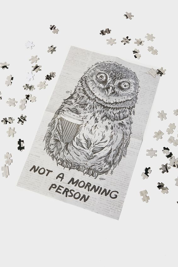 1000 Piece Puzzle, MORNING OWL