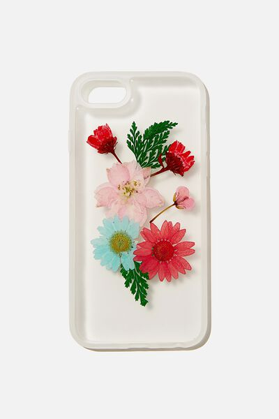 Protective Phone Case 6, 7, 8, SE, TRAPPED FLORAL & FERN